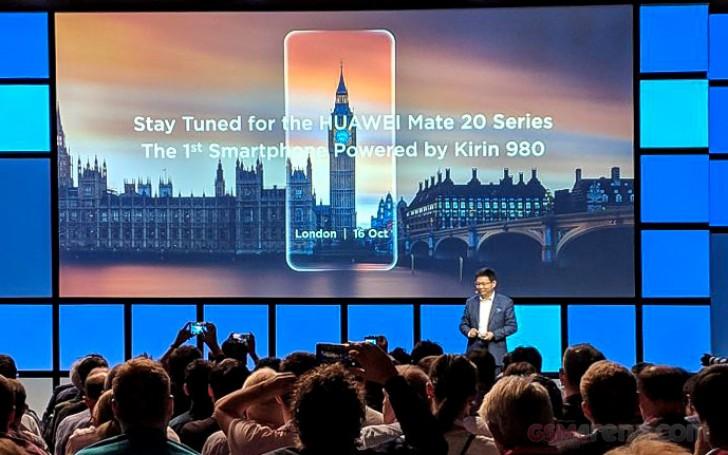 Huawei Mate 20 e o Mate 20 Pro