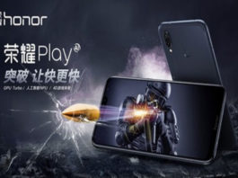 Huawei anuncia Honor Play na Índia com processador Kirin 970