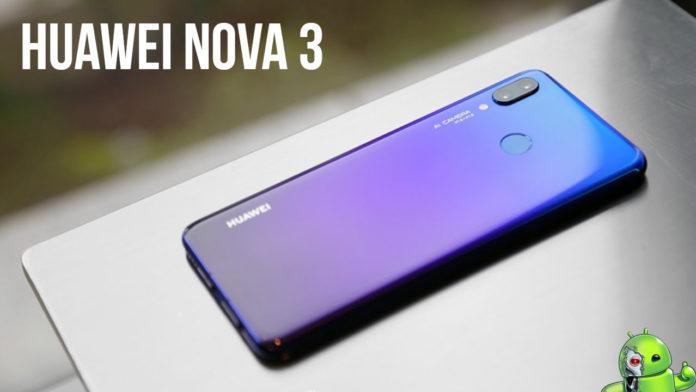 Huawei nova 3 estará à venda em 23 de agosto