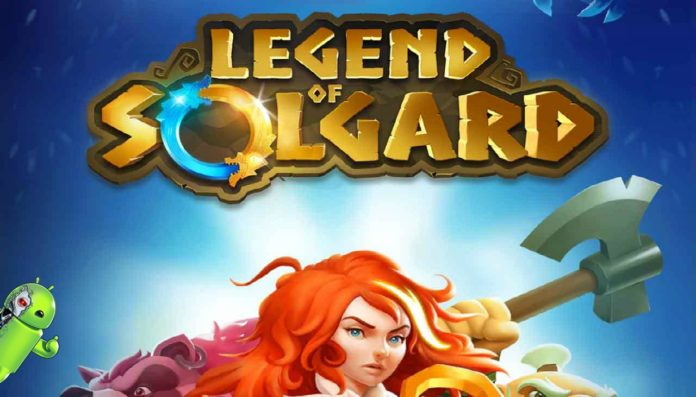 Legend of Solgard Disponível para Android