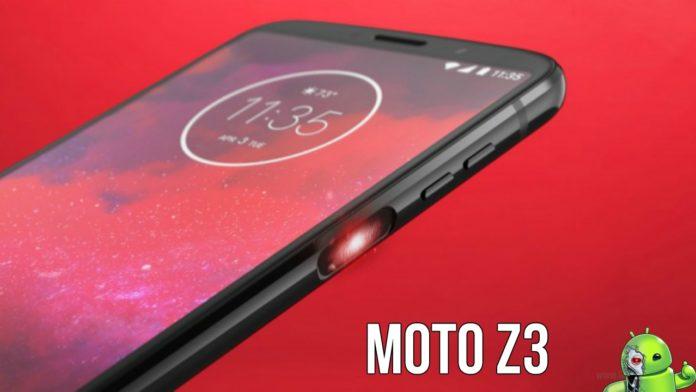 Moto Z3 É Anunciado com scanner de impressões digitais