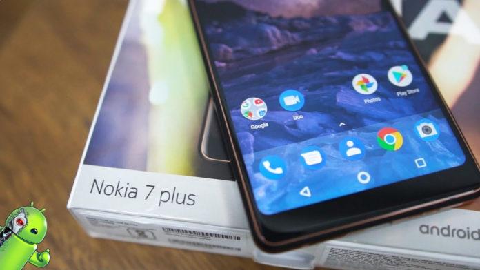 Nokia 7 Plus começa a receber o Android 9 Pie