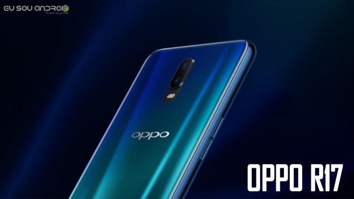 Oppo R17 revelado com scanner de impressão digital