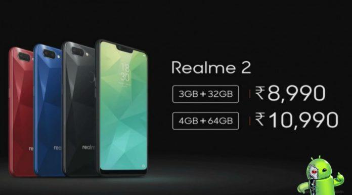 Oppo anuncia o Realme 2 com câmera dupla