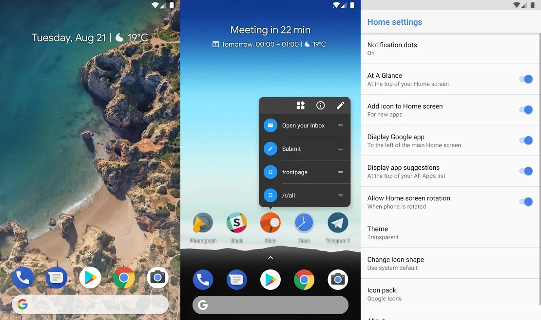 Rootless Pixel Launcher chega na Google Play google