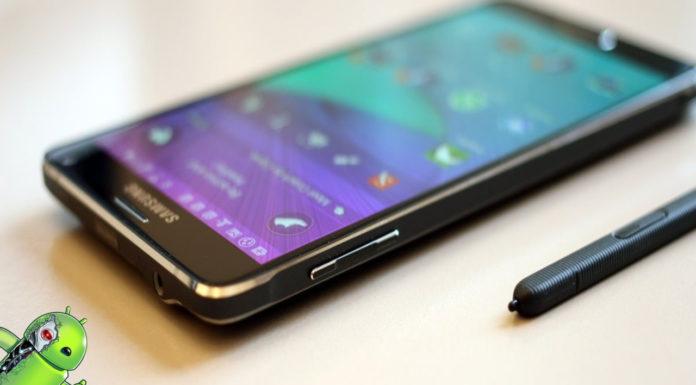 Samsung Galaxy Note 4 recebe uma atualização de aumento de vida da bateria