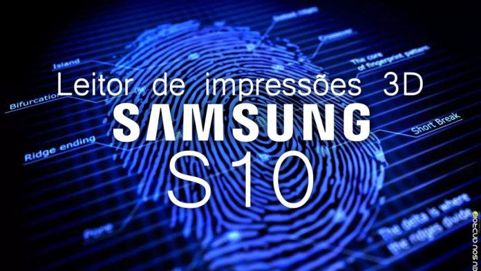 Samsung Galaxy S10 deve ter leitor de impressões digitais na tela capa