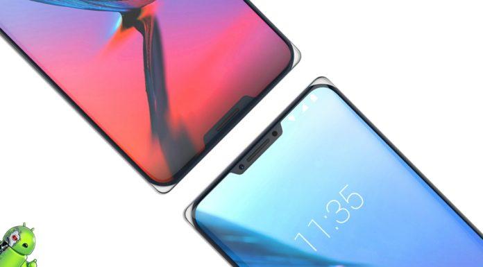 Teaser do ZTE Axon 9 Pro Vaza mostrando design do telefone