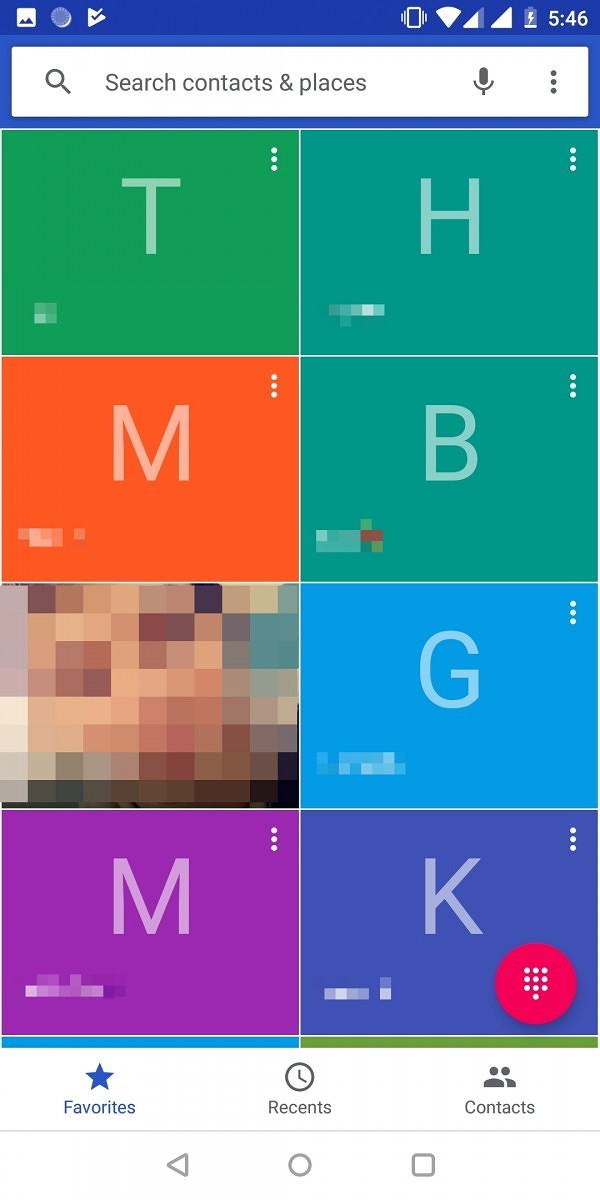 Telefone do Google recebeu mudança no design