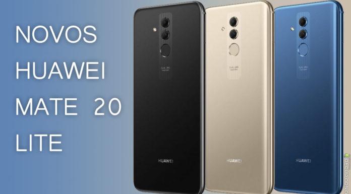 Tudo sobre o Huawei Mate 20 Lite! CAPA