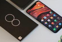 Xiaomi Mi 8 com 8GB de RAM e 128GB de armazenamento interno