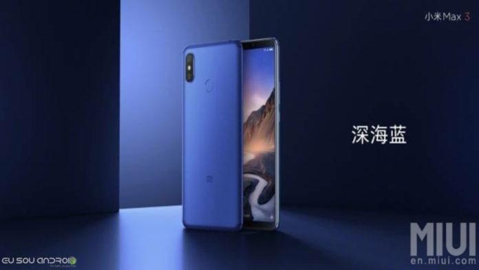 Xiaomi Mi Max 3 versão blue chegando em dois dias