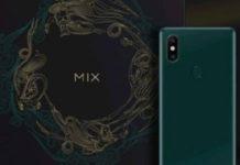 Xiaomi Mi Mix 2S Emerald Green é Revelado