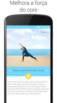 Faça uma pose: 5 Apps de ioga para encontrar seu equilíbrio