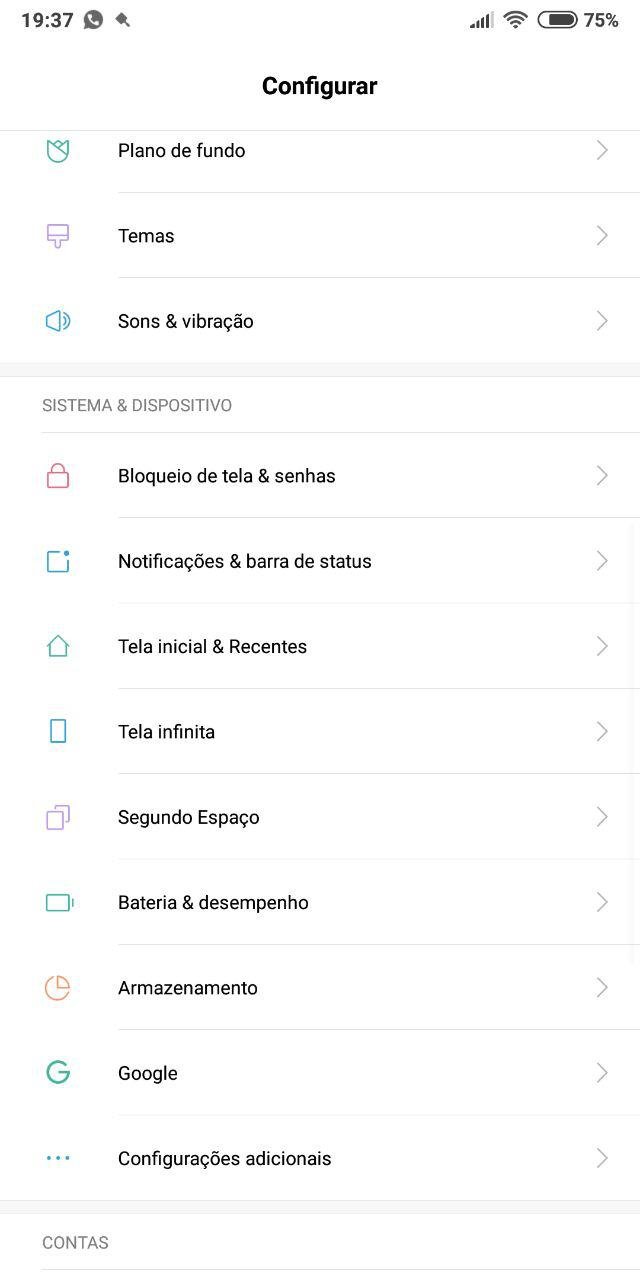Como Ativar o Modo Tela Infinita no Redmi Note 5