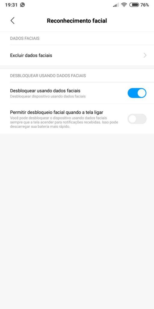 Como Ativar Desbloqueio Facial na MIUI 9