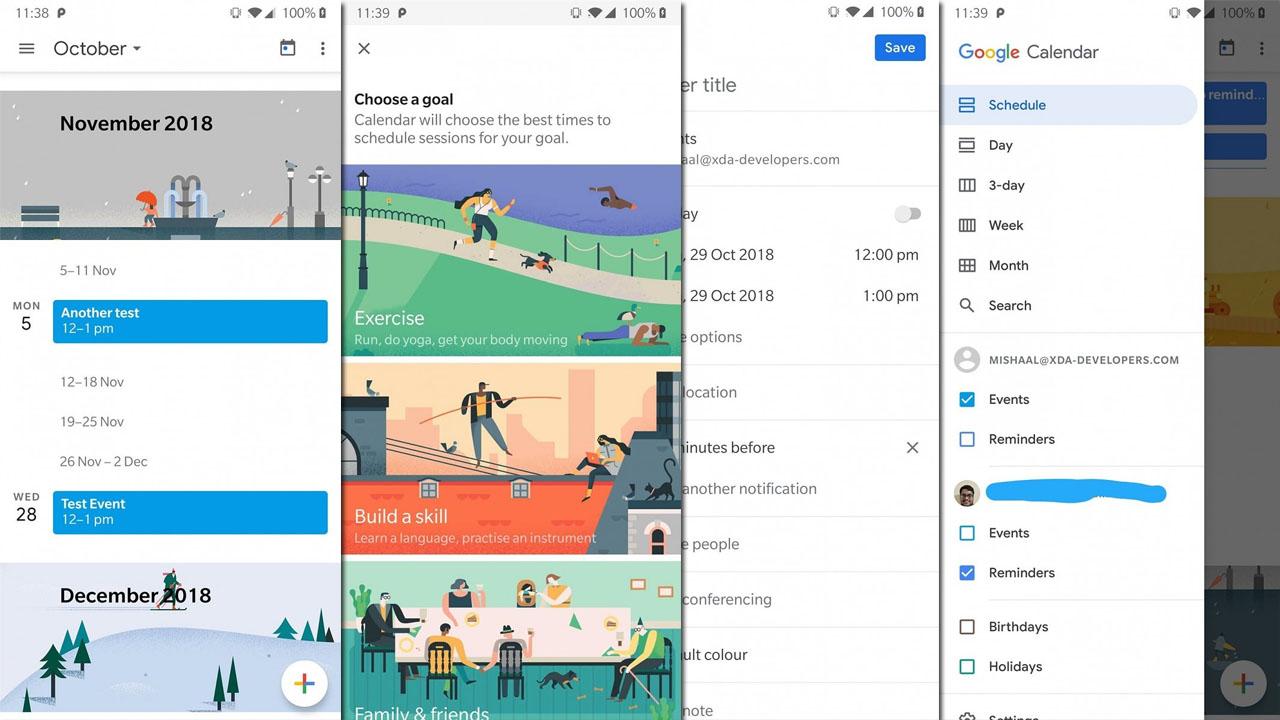 APK Disponível! Google Agenda Ganha Novo Design com Material 2 capa 2