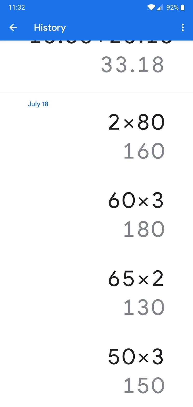 Calculadora do Google recebe atualização na interface (2)