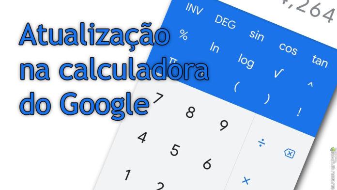 Calculadora do Google recebe atualização na interface capa