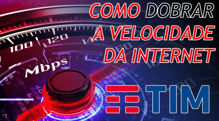 Como Dobrar a Velocidade do 4G da TIM capa
