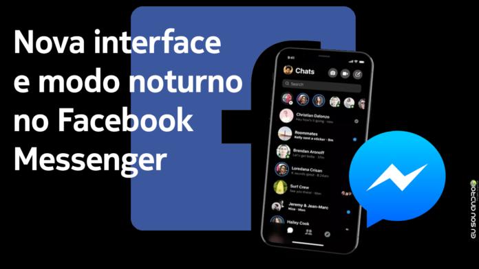 Facebook Messenger Vai Ganhar Modo Noturno e Redesign em Breve capa 1