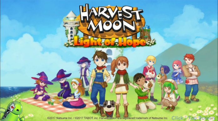 Harvest Moon: Light of Hope Disponível para Android