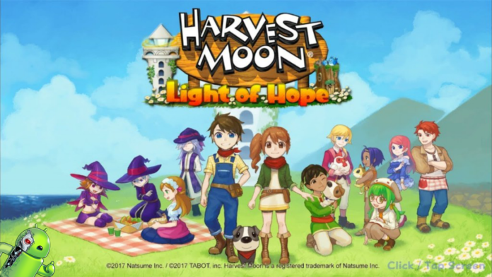 Harvest Moon: Light of Hope Disponível para Android