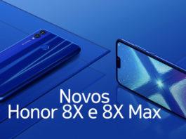 Honor 8X e 8X Max anunciados oficialmente capa