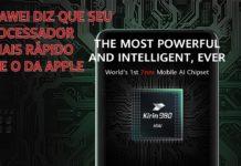 Huawei diz que Kirin 980 é Mais Rápido que Chip A12 Bionic da Apple CAPA 1