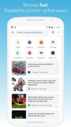Kiwi Browser - Fast & Quiet