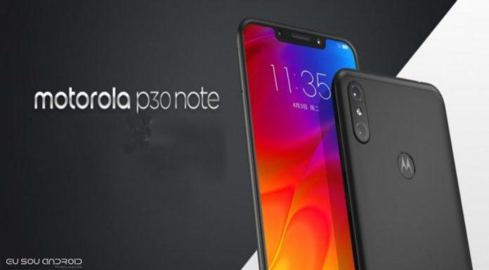 Motorola P30 Note é oficial com ZUI 4.0