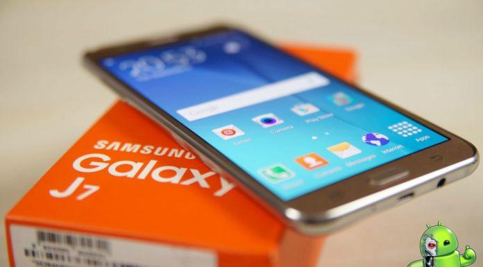 Samsung Galaxy J7 2016 Será o primeiro em sua família para obter o Android Oreo
