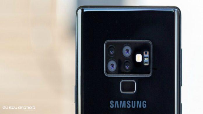 Smartphone da Samsung com quatro câmeras está chegando este ano