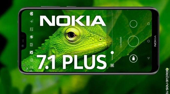 Vazam detalhes da câmera e processador do Nokia 7.1 Plus