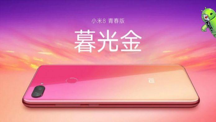 Xiaomi Mi 8X Aparece na cor Twilight Gold