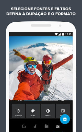 5 apps de edição de vídeo em cena