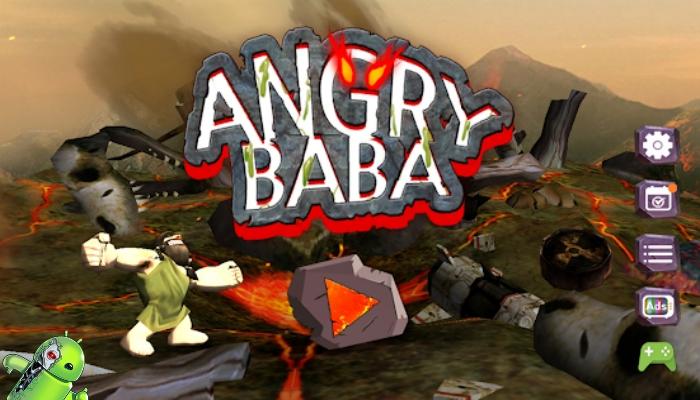 Angry BaBa: Acerte o & Para bem longe
