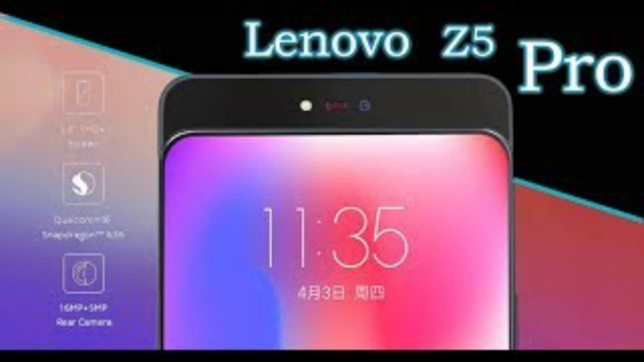 Confirmado! Lenovo Z5 Pro chegando em 1 de novembro