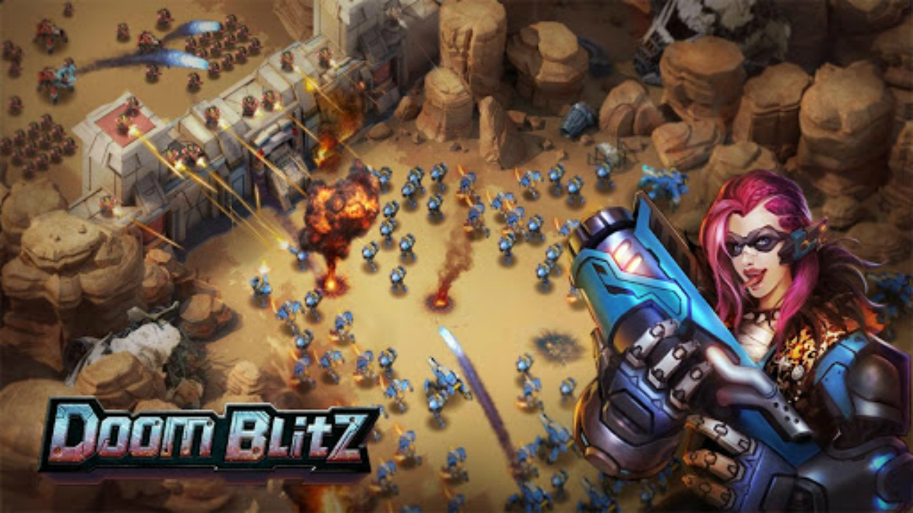 Doom Blitz: War Strategy Disponível para Android