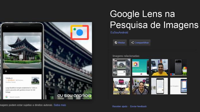 Google Lens Agora Funciona na Pesquisa de Imagens do Google capa 1