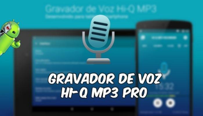 Gravador de Voz Hi-Q MP3