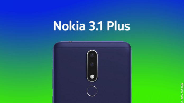 HMD lança o novo Nokia 3.1 Plus capa 1