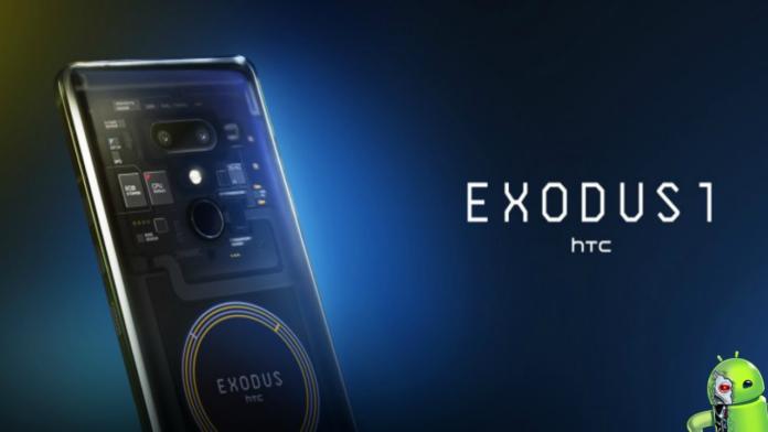 HTC Exodus 1 é Revelado Oficialmente