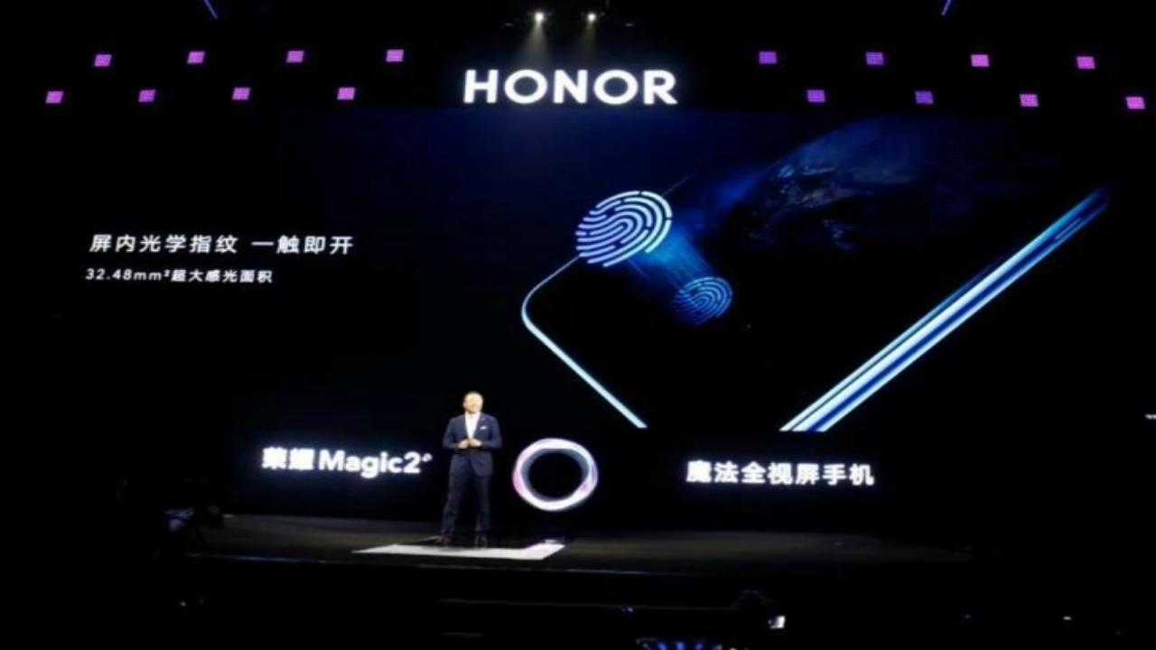 Honor Magic 2 Chega com seis câmeras e scanner de impressão digital UD
