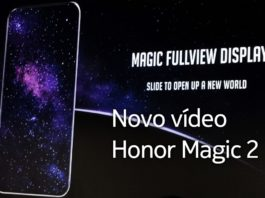 Honor Magic 2 surge em vídeo capa