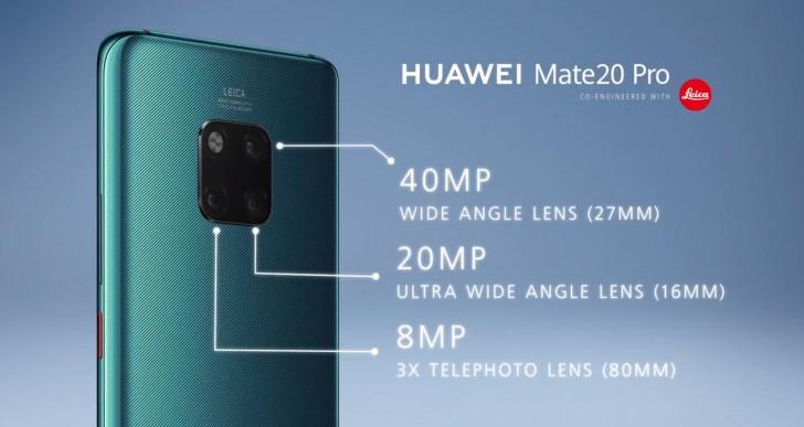 Huawei Mate 20 e Mate 20 PRO 1