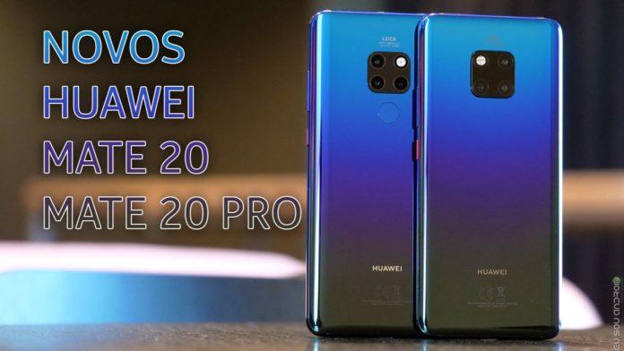 Huawei apresenta Mate 20 e Mate 20 PRO CAPA 1