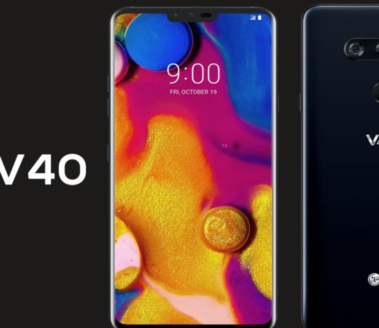 LG V40 ThinQ é Lançado oficialmente