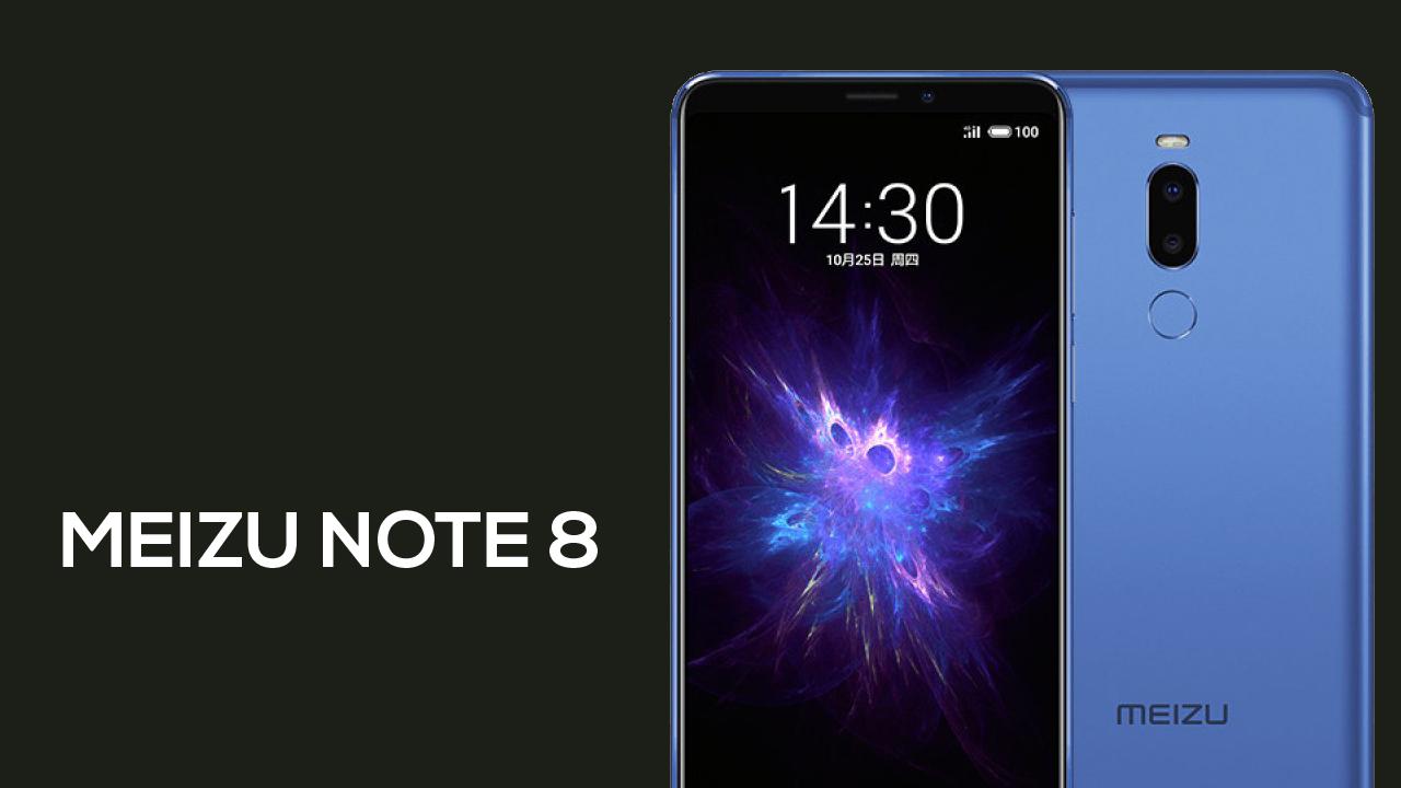 Meizu note 8 e revelado com câmera dupla e uma bateria de 3.600mAh