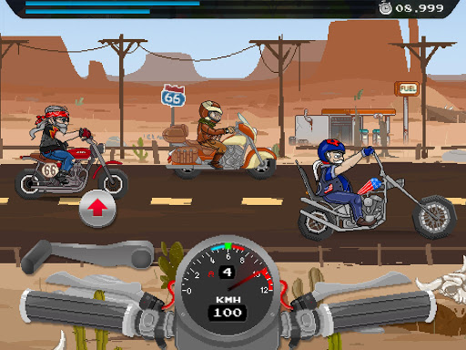 Moto Quest : Bike racing (retro drag races)
